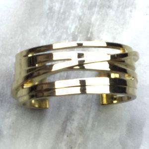Ann Taylor Loft Gold-Tone Cuff Bracelet